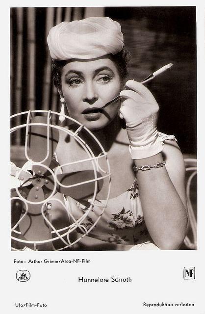 Hannelore Schroth European Film Star Postcards Hannelore Schroth