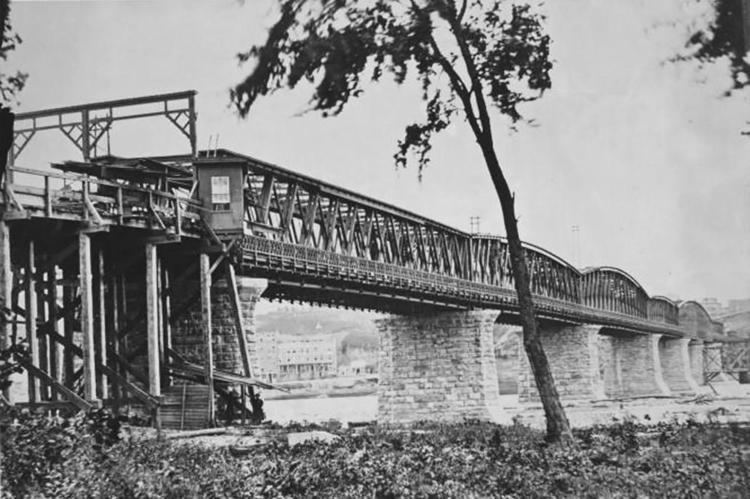 Hannibal Bridge PHOTOS Kansas City39s Bridges Tell A Story Of Creation And