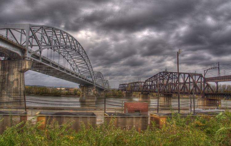 Hannibal Bridge Broadway Bridge amp Second Hannibal Bridge Kansas City Flickr