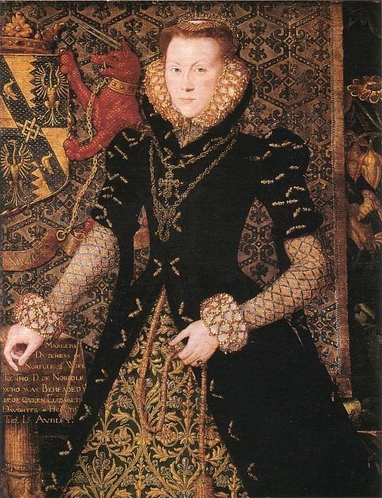 Hans Eworth 1562 Margaret Audley Duchess of Norfolk by Hans Eworth