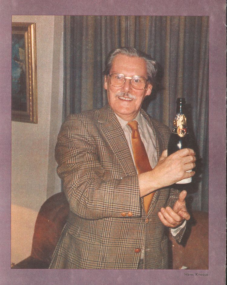 Hans G. Kresse Hans G Kresse 19211992 Koninklijke Bibliotheek