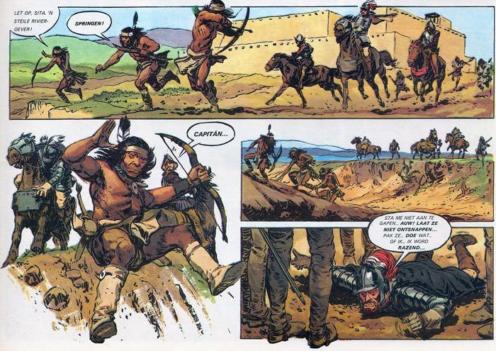 Hans G. Kresse Stripplaatje onder de loep De indianenverhalen van Hans G