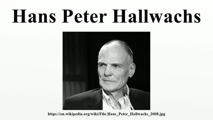 Hans Peter Hallwachs Hans Peter Hallwachs YouTube
