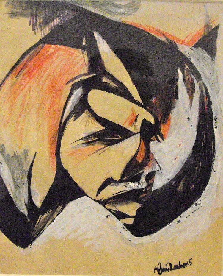 Hans Richter (artist) Portrait de Lou Mrten Hans Richter WikiArtorg