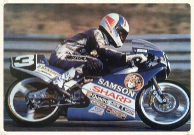 Hans Spaan Hans Spaan honda rs125 samson Vintage racers Pinterest