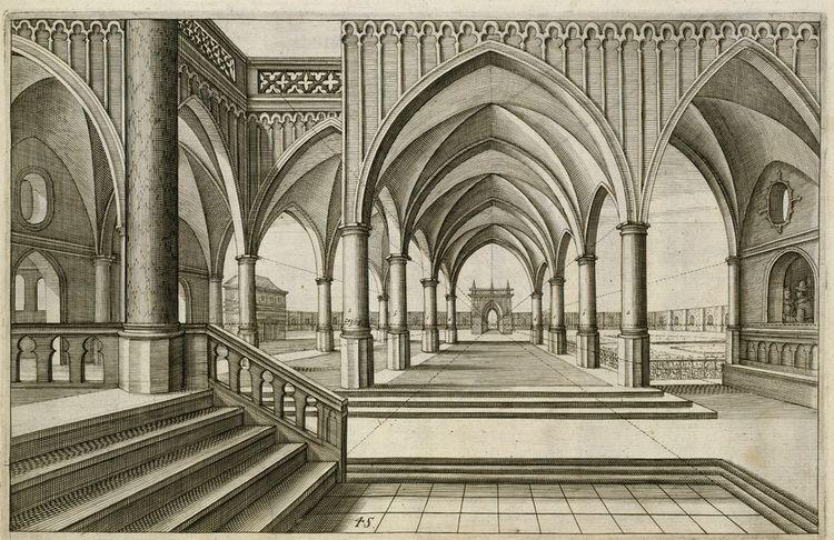 Hans Vredeman de Vries Perspective Koninklijke Bibliotheek