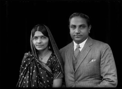 Hansa Jivraj Mehta Mrs Hansa Mehta Jivraj Narayan Mehta by Bassano Ltd at Art on
