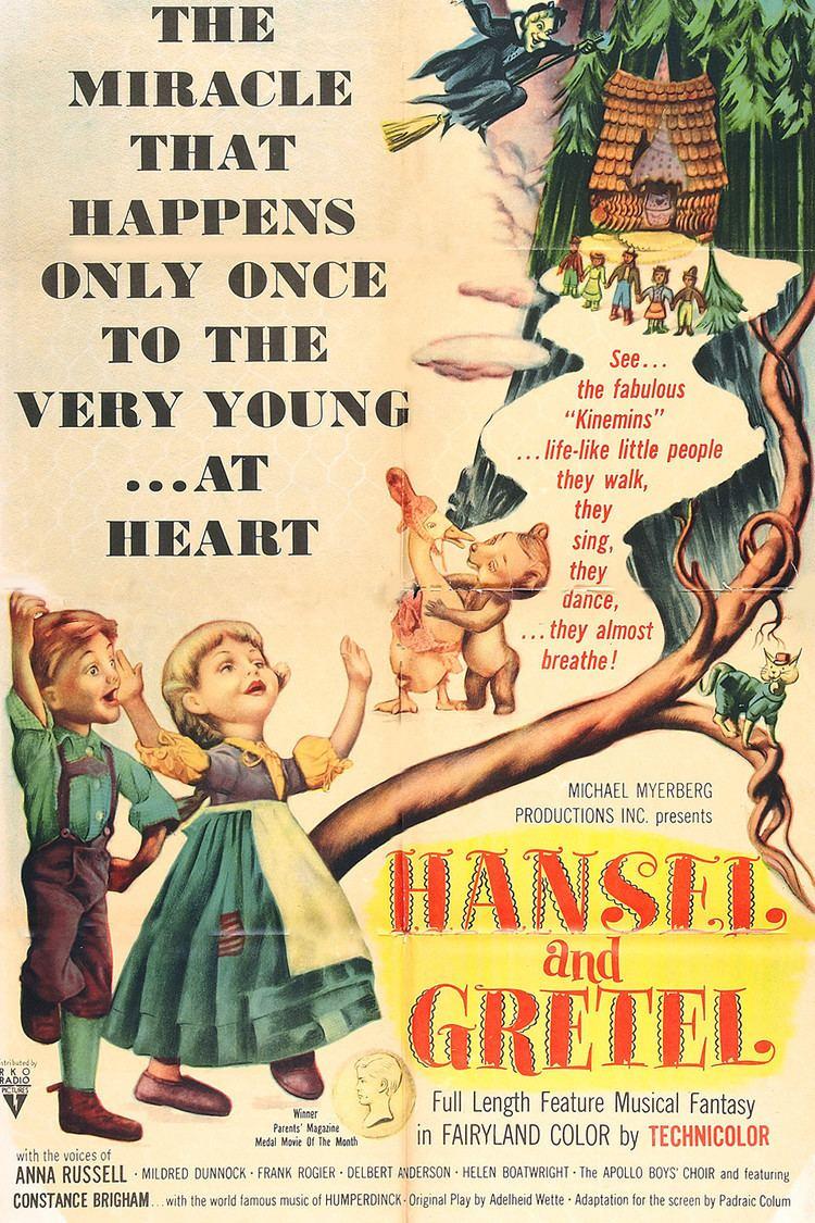 Hansel and Gretel: An Opera Fantasy wwwgstaticcomtvthumbmovieposters40437p40437