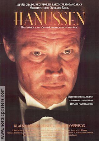 Hanussen (1988 film) Hanussen poster 1988 Klaus Maria Brandauer original