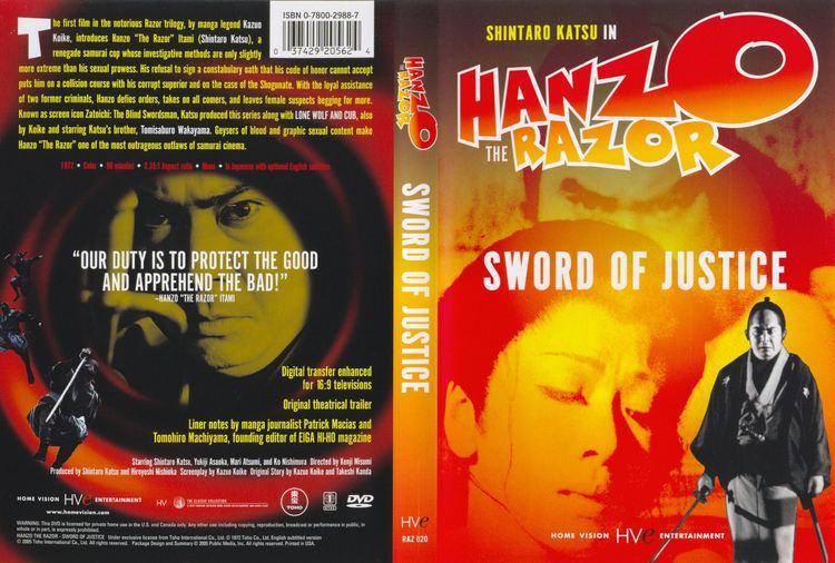 Hanzo the Razor COVERSBOXSK Hanzo The Razor Sword Of Justice 1972 high
