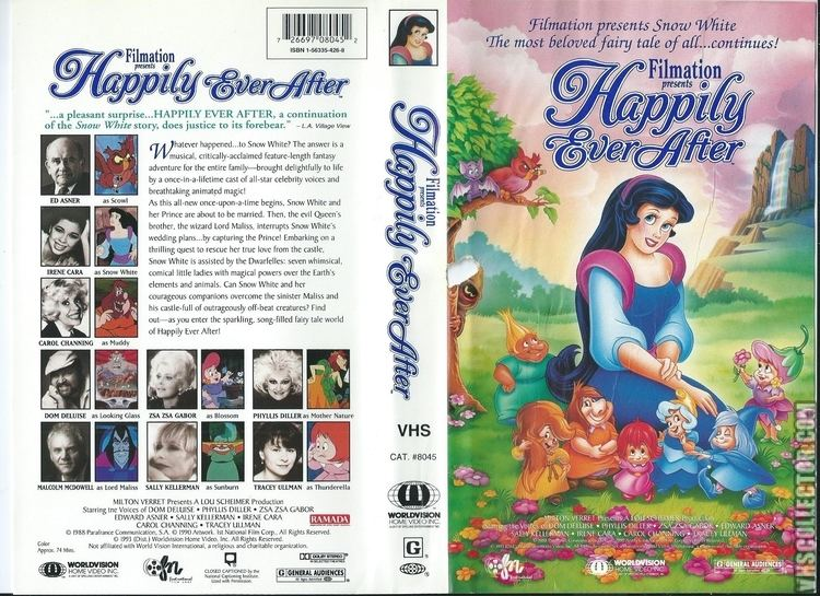 Happily Ever After (1990 film) Happily Ever After VHSCollectorcom Your Analog Videotape Archive