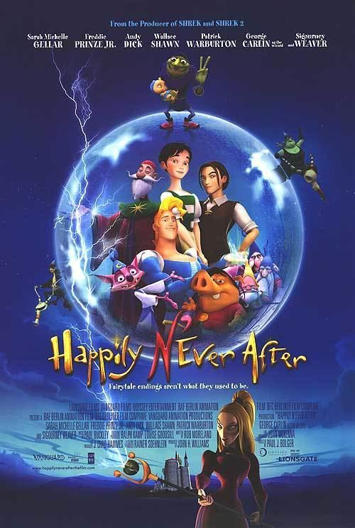 Happily N'Ever After Happily Never After movie posters at movie poster warehouse
