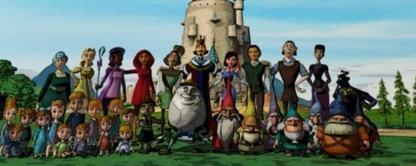 Happily N'Ever After Happily NEver After 2 Cast Images Behind The Voice Actors