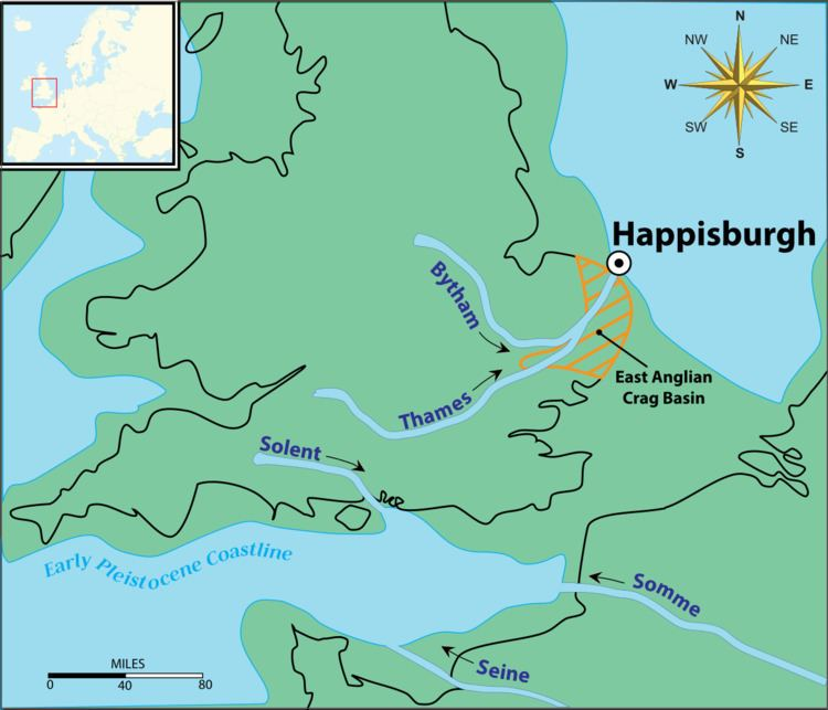 Happisburgh footprints
