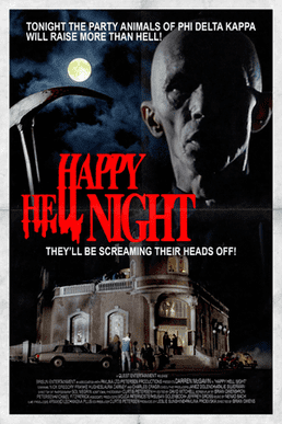 Happy Hell Night movie poster
