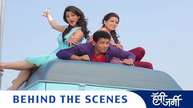 Happy Journey (2014 Marathi film) Caravan Part 1 Making Of Happy Journey Marathi Movie Atul