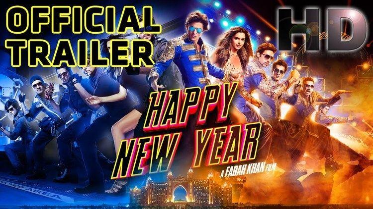 Happy New Year Official Trailer Shah Rukh Khan Deepika
