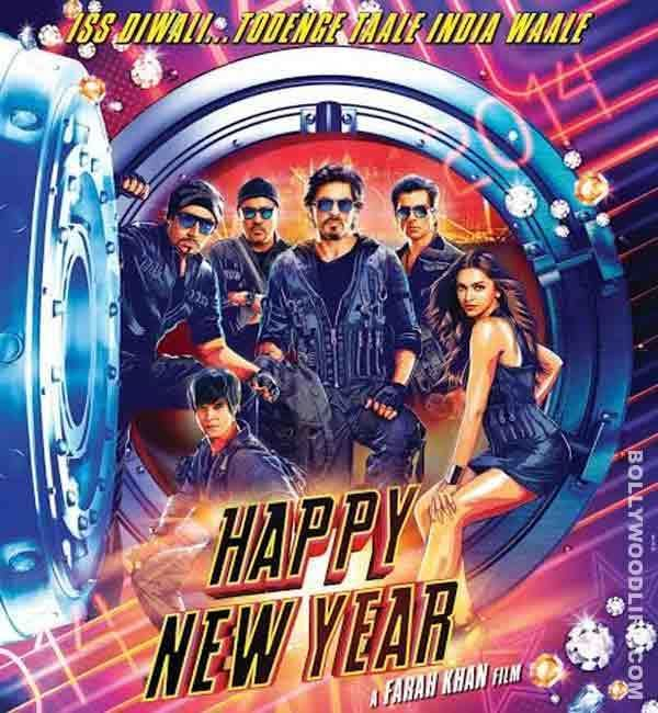 Happy New Year first poster Shahrukh Khan and Deepika Padukones