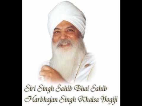 Harbhajan Singh Khalsa katha by harbhajan singh khalsa yogiji YouTube