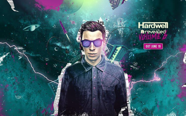 Hardwell Hardwell releases the Revealed Vol 6 minimix as a free