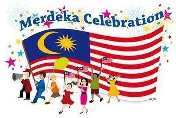 Hari Merdeka Double Celebration of Hari Raya and Hari Merdeka Malaysians in the