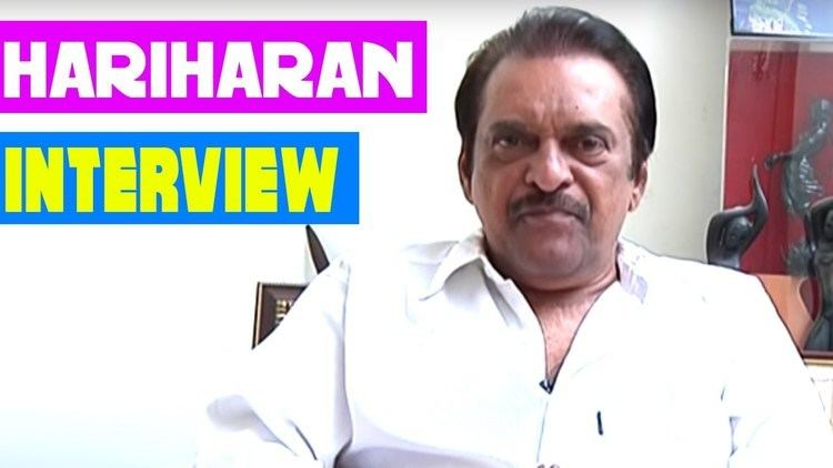Hariharan (director) Director Hariharan Interview National Award winner Hariharan