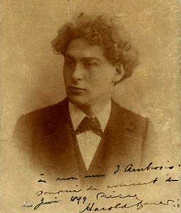 Harold Bauer FileHarold Bauer 1899jpg Wikimedia Commons