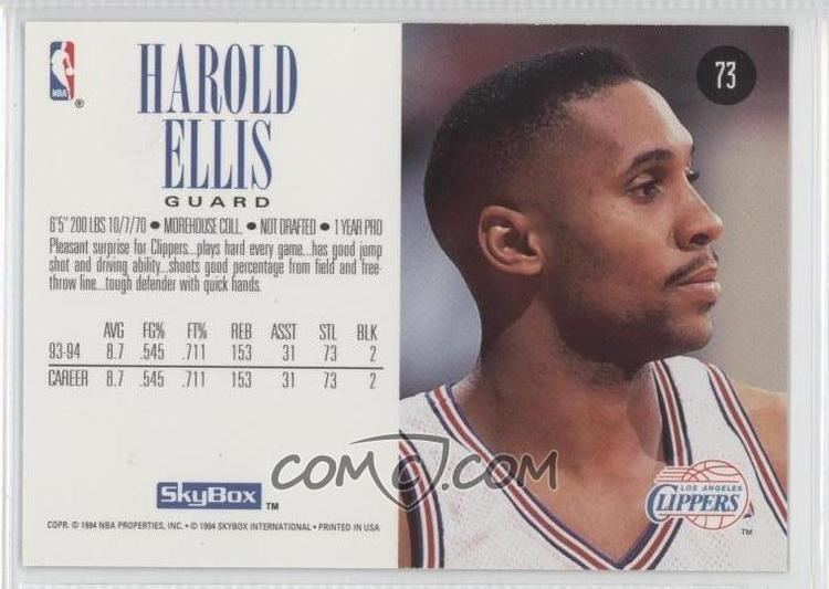 Harold Ellis Basketball Alchetron The Free Social Encyclopedia