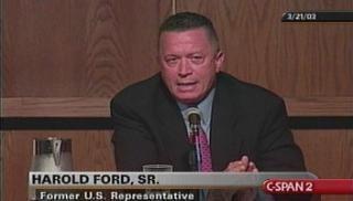 Harold Ford Sr. Harold E Ford Sr CSPANorg