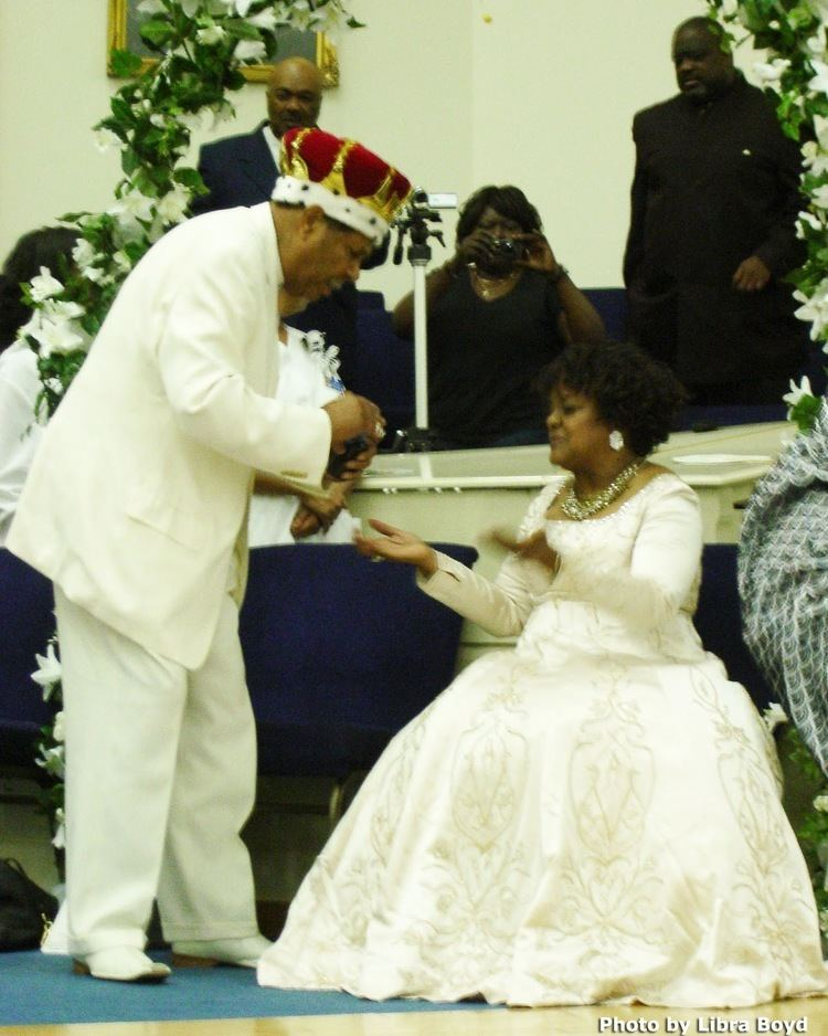 Harold Ivory Williams (bishop) The King Of The Queen Of Gospel Music Shirley Caesar