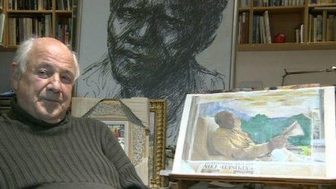 Harold Riley (artist) Nelson Mandela39s portrait artist Harold Riley BBC News