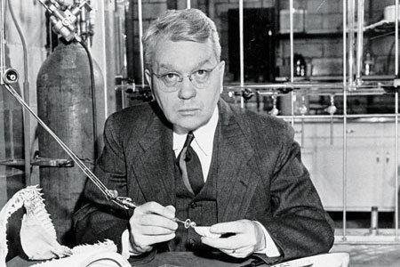 Harold Urey Chemical amp Engineering News The Priestly Medal 1973