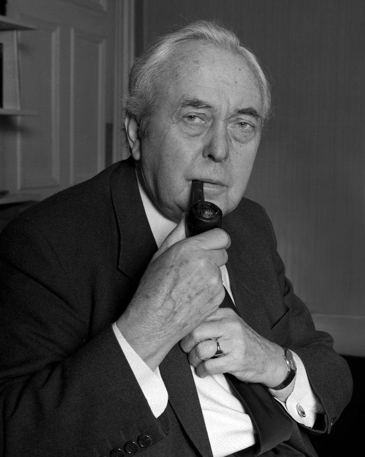Harold Wilson FileHarold Wilson 1 Allan Warrenjpg Wikimedia Commons