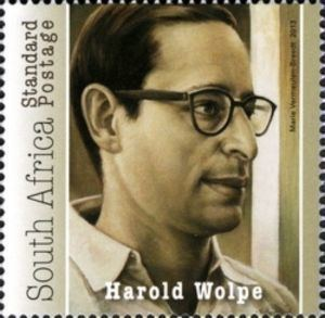 Harold Wolpe Stamp Harold Wolpe South Africa 50th Anniversary of Rivonia