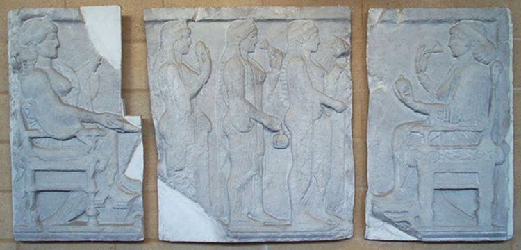 Harpy Tomb Harpy Tomb reliefs Museum of Classical Archaeology Databases