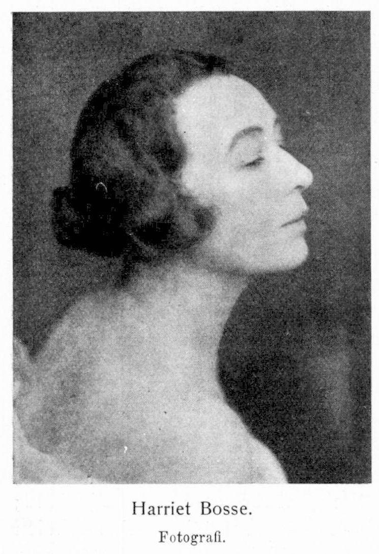 Harriet Bosse Harriet S Bosse Svenskt Biografiskt Lexikon