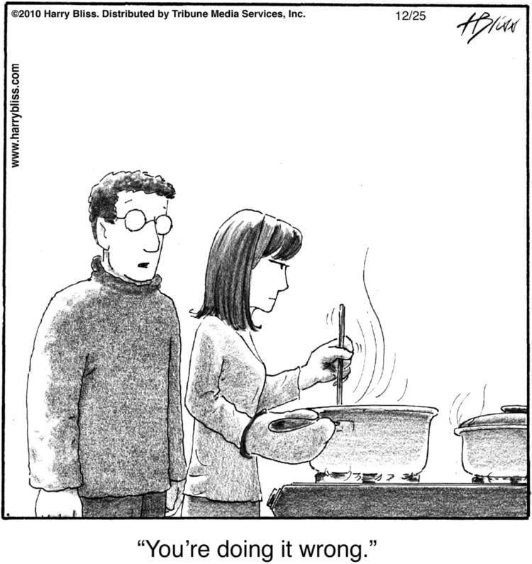 Harry Bliss Veg Celeb CartoonistIllustrator Harry Bliss Vegetarian
