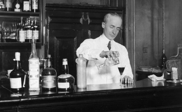 Harry Craddock Around the World in 50 Classic Cocktails The White Lady