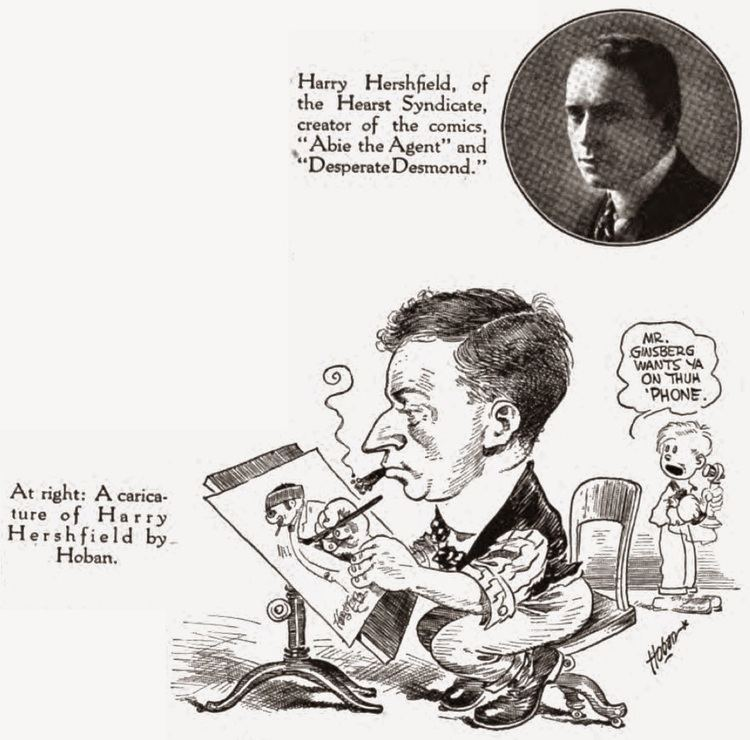Harry Hershfield Stripper39s Guide InkSlinger Profiles by Alex Jay Harry