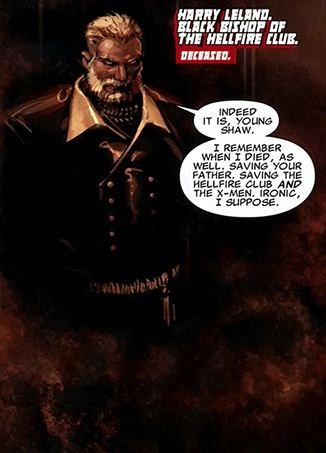 Harry Leland Harry Leland Black Bishop XMen villain