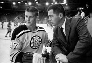 Harry Sinden Legends of Hockey Spotlight One on One with Harry Sinden