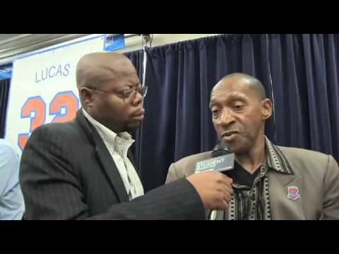 Harthorne Wingo Former New York Knick Harthorne Wingo Talks 1973 NBA