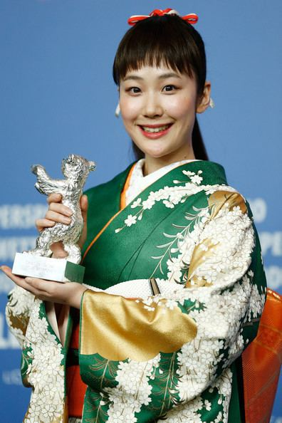 Haru Kuroki Haru Kuroki Pictures Award Winners Press Conference