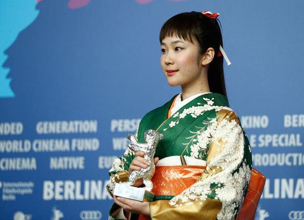 Haru Kuroki Haru Kuroki Photos Award Winners Press Conference 64th