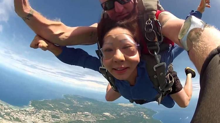 Haruko Okamoto Skydive Guam Haruko Okamoto YouTube