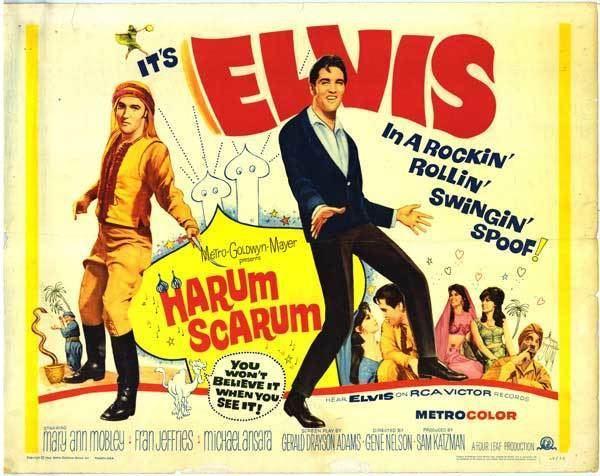 Harum Scarum Harum Scarum movie posters at movie poster warehouse moviepostercom
