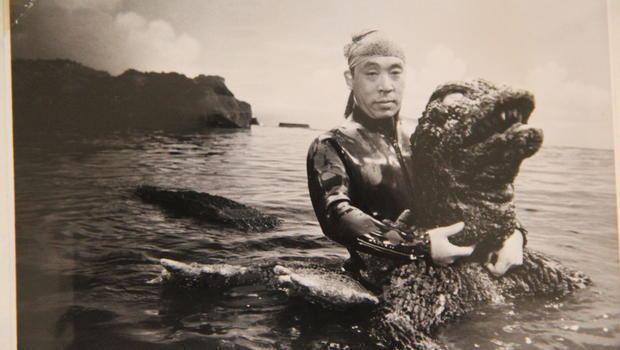 Haruo Nakajima Original quotGodzillaquot actor Haruo Nakajima keeps monstrous