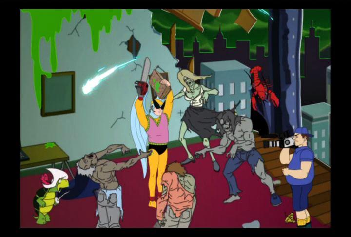 Harvey Birdman, Attorney at Law Harvey Birdman Attorney at Law PlayStation 2 Screenshots Realm of
