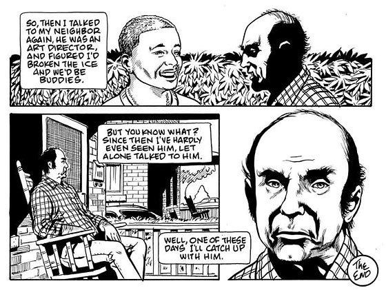 Harvey Pekar Exclusive A New Comic by Harvey Pekar and Rick Veitch