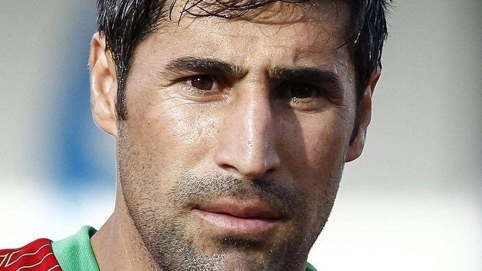 Hashem Beikzadeh Kader Iran Teams FIFA WM 2014 Fuball sportschaude